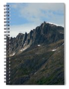 Jagged Mountain Spiral Notebook