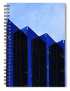 Jagged Sky Scraper Spiral Notebook