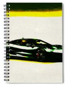 Jaguar C-x75 Spiral Notebook
