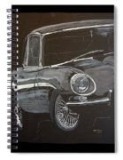 Jaguar E Type Spiral Notebook