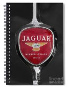 Jaguar Medallion Spiral Notebook