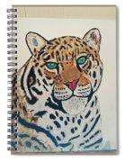 Jaguar Painting Spiral Notebook