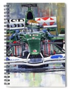 Jaguar R3 Cosworth F1 2002 Eddie Irvine Spiral Notebook