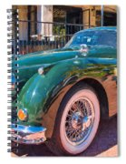 Jaguar Xk Classic Spiral Notebook