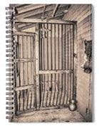 Jail House Interior Spiral Notebook