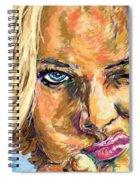 Jaime Pressly Spiral Notebook