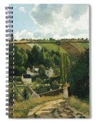 Jalais Hill At Pontoise Spiral Notebook