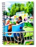 Jalopy Junction 2 Spiral Notebook