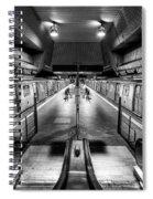 Jamaica Center Subway Station, Queens New York Spiral Notebook