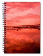 Jamaica Sunset Spiral Notebook