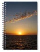 Jamaican Sunset Spiral Notebook