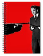 James Cagney As Gangster  Rocky Sullivan In Angels With Dirty Faces 1938-2008 Spiral Notebook