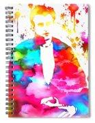 James Dean Watercolor Spiral Notebook