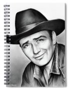 James Drury Spiral Notebook