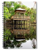 James E Grey Fishing Pier Spiral Notebook