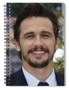 James Franco Spiral Notebook