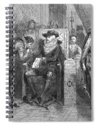 James I Appoints Bacon Lord Chancellor Spiral Notebook
