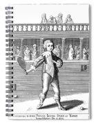 James II (1633-1701) Spiral Notebook