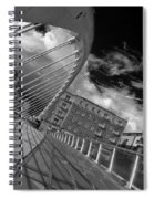 James Joyce Bridge 2 Bw Spiral Notebook