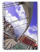James Joyce Bridge Spiral Notebook
