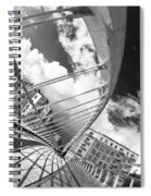 James Joyce Bridge Bw Spiral Notebook