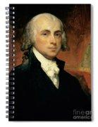 James Madison Spiral Notebook