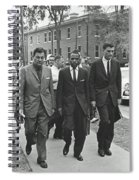 James Meridith And Ole Miss Integration 1962 Spiral Notebook