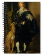 James Stuart - Duke Of Richmond And Lennox                       Spiral Notebook