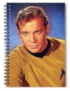 James T. Kirk Spiral Notebook