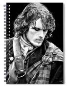 Jamie Fraser Spiral Notebook