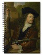 Jan De Hooghe  Spiral Notebook