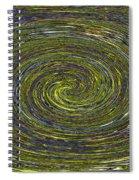 Janca Abstract #6731eca1b Spiral Notebook