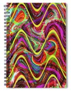 Janca Abstract Wave Panel #5at Spiral Notebook