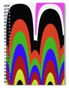 Jancart Drawing Abstract #8455pc Spiral Notebook