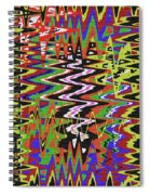 Jancart Drawing Abstract #8455wt Spiral Notebook