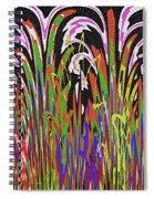 Jancart Drawing Abstract #8455wtpc Spiral Notebook