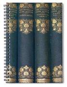 Jane Austain Books Spiral Notebook