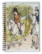 Jane Austen: Illustration Spiral Notebook