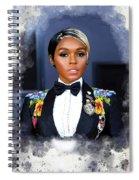 Janelle Monae Spiral Notebook