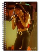 Janet Jackson 94-2996 Spiral Notebook
