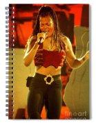 Janet Jackson 94-3000 Spiral Notebook