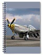 Janie P-51 Spiral Notebook