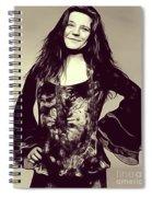 Janis Joplin, Music Legend Spiral Notebook