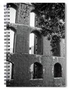 Jantar Mantar - Monochrome Spiral Notebook