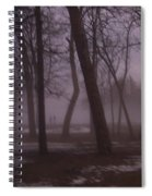 January Fog 1 Spiral Notebook