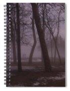 January Fog 1 Spiral Notebook