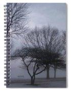 January Fog 6 Spiral Notebook