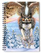 January Gryphon Spiral Notebook