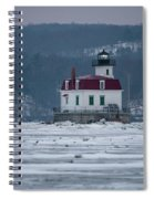 January Morning At Esopus Light Spiral Notebook