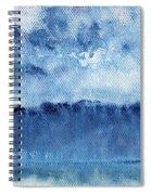 January Rain Spiral Notebook